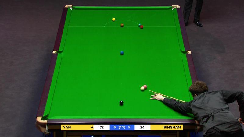 The Masters: Yan Bintao Stuart Bingham'a karşı kazanıyor
