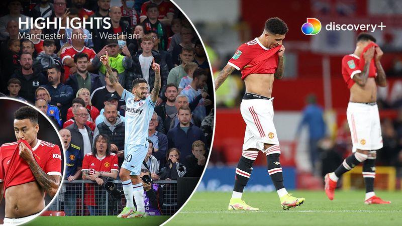 Highlights: Manchester United kunne ikke uden Ronaldo – West Ham sejrer på Old Trafford
