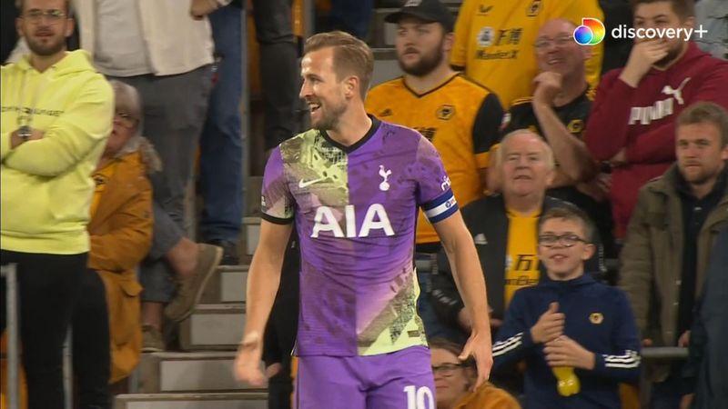Alli, Kane, mål: Harry Kane fordobler Tottenhams føring mod Wolverhampton