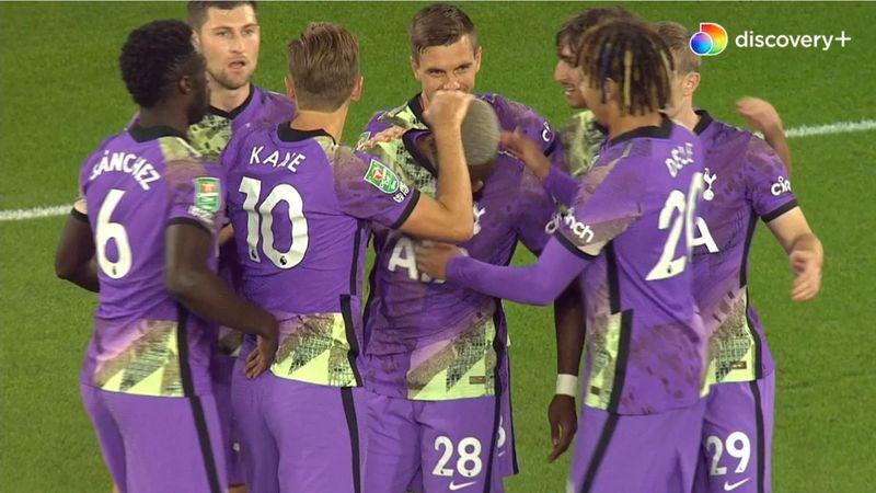 Ndombele bringer Tottenham i front på Molineux