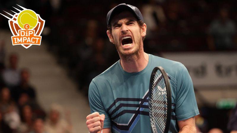 """""""Quand tu repars de zéro, c'est tellement dur... Murray, il continue de nous bluffer"""""""