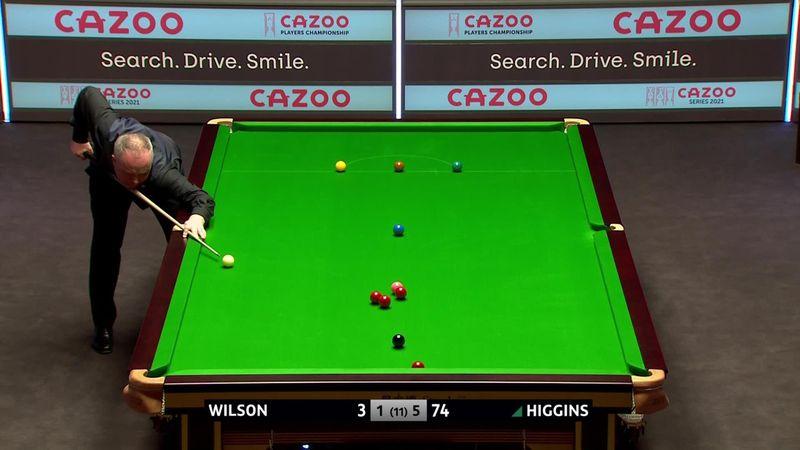 Oyuncular Şampiyonası yarı final maçı | Higgins, Wilson'ı mağlup ediyor