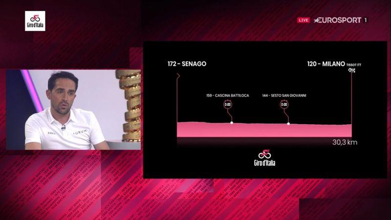 Contador analiza la 21ª Etapa: El final se decide contra el crono