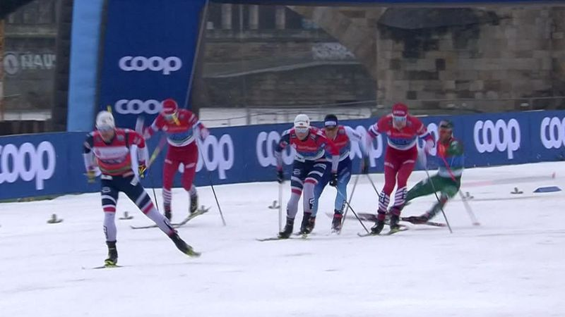 Norway dominate World Cup in Dresden