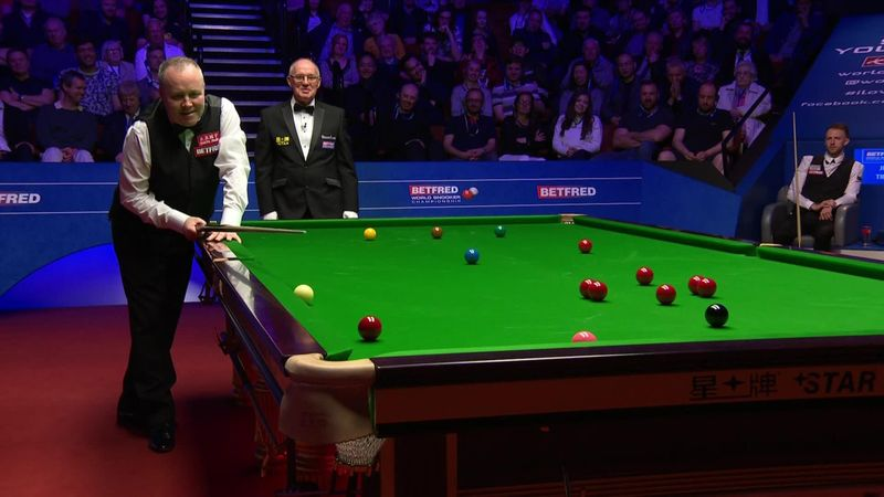 'Where's Mark Williams when you need him?' – John Higgins on his final difficulties