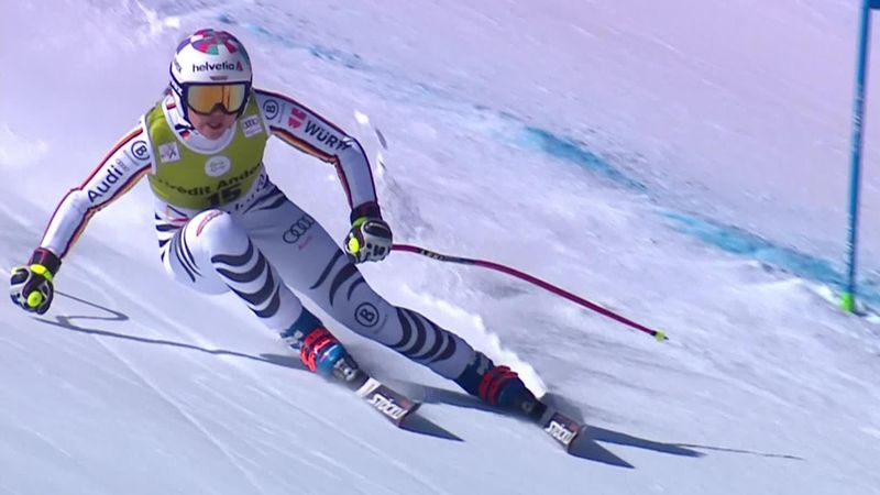 Soldeu | Rebensburg wint Super-G in Andorra