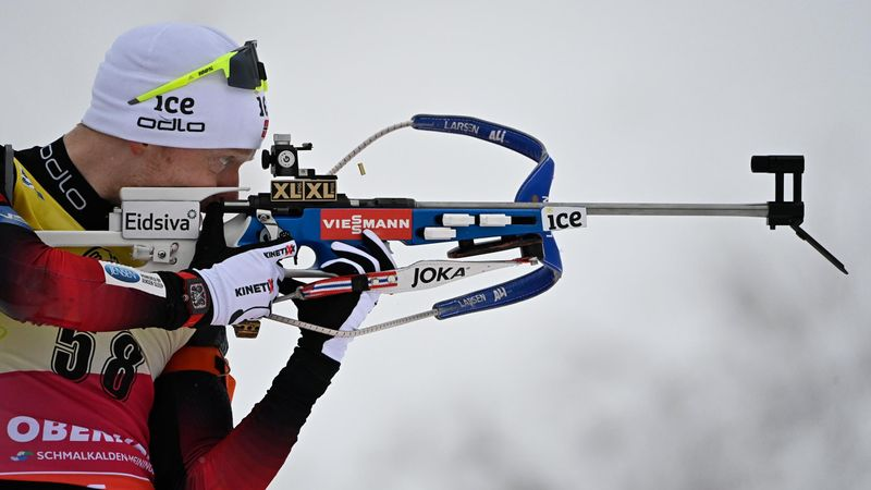 Boe clinches 51st World Cup victory in Oberhof sprint