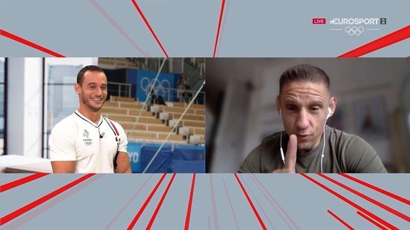 """""""Tu es un filou"""" : Les retrouvailles pleines de complicité entre Samir Aït Saïd et son coach"""