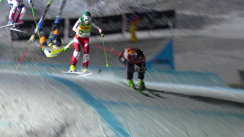 Edebo flips over on jump, crash-lands on back