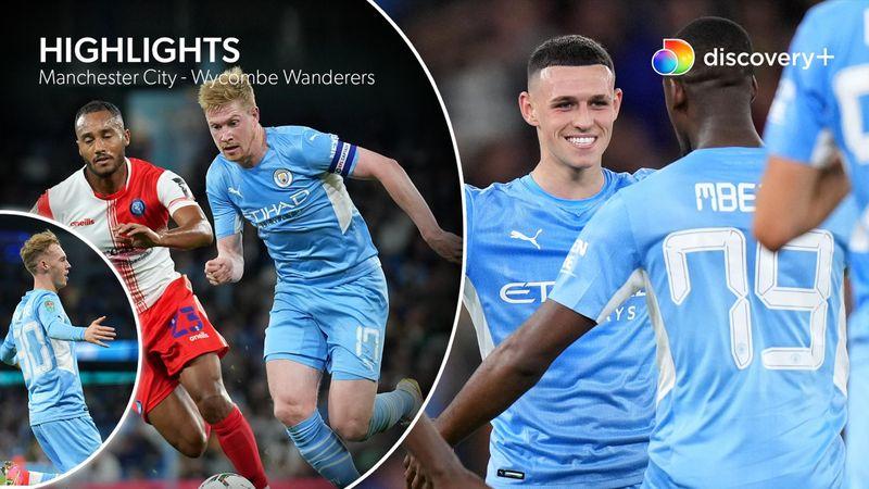 Highlights: Altdominerende City-mandskab sendte Wycombe Wanderers i knæ med tenniscifre