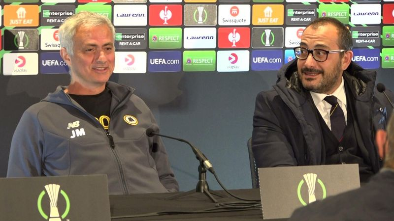 Spøkefull Mourinho tullet med Bodø-været