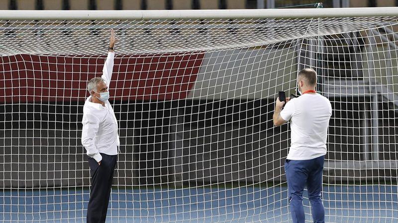 """""""Tor war zu klein!"""" Mourinho über kuriose Panne in Europa League"""