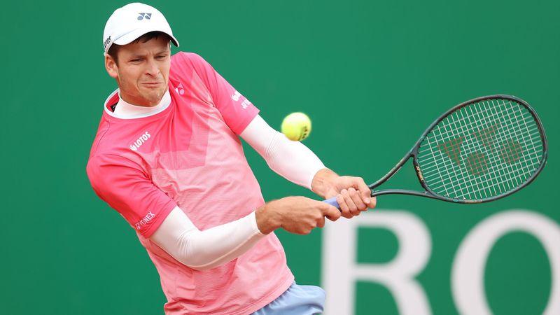 ATP Monte Carlo   Rezumatul confruntării dintre Daniel Evans și Hubert Hurkacz