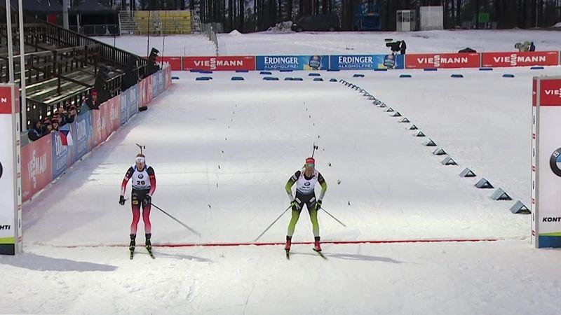 Kontiolahti: Gran victoria de Johannes Boe ante Fourcade... le sacó 21 segundos