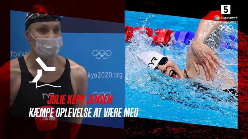 Julie Kepp Jensen: Svært at indhente en dårlig start på 50 meter