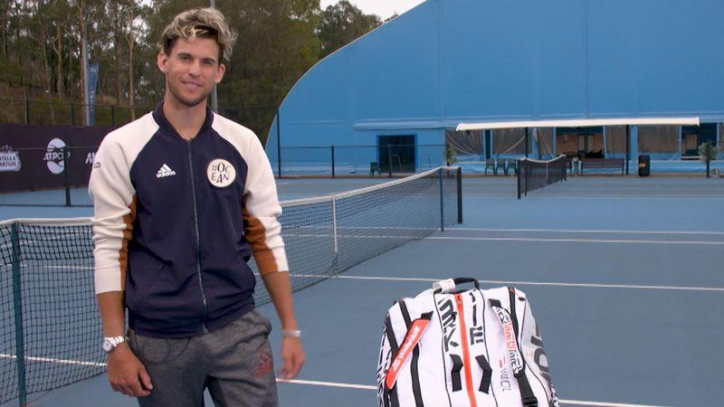 Das muss immer dabei sein: Thiem verrät, wie er seine Tennistasche packt