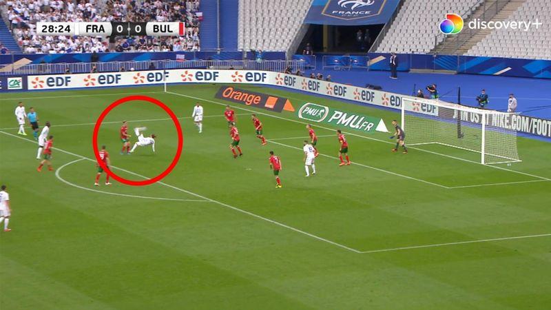 1-0 til Les Bleus! Antoine Griezmann sakser sublimt verdensmestrene i front mod Bulgarien