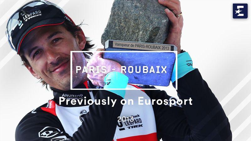 Vandaag in 2013   Cancellara klopt Vanmarcke in Parijs-Roubaix