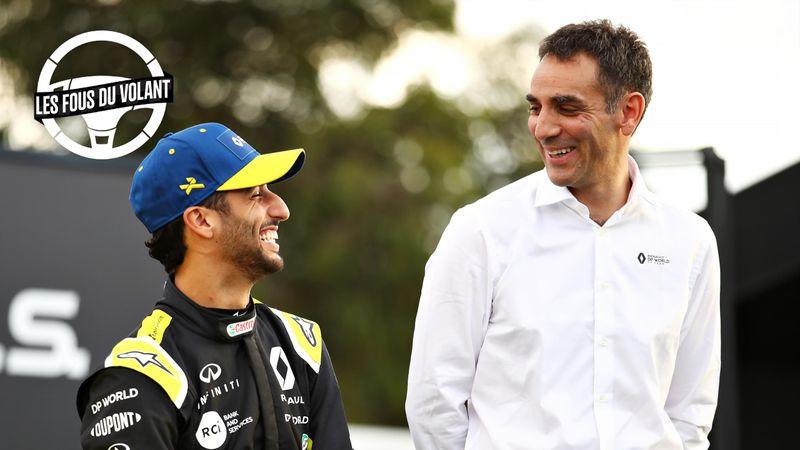 Point tatouage : On sait quel animal a été choisi par Ricciardo pour Abiteboul