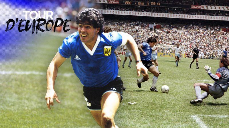 """10 secondes, 5 adversaires effacés et 32 km/h : le """"but du siècle"""" de Maradona décortiqué"""
