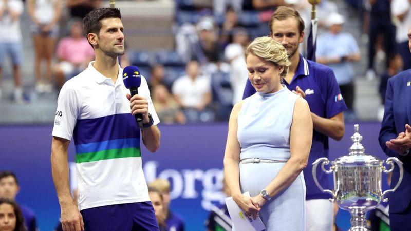 US Open   Speech Djokovic