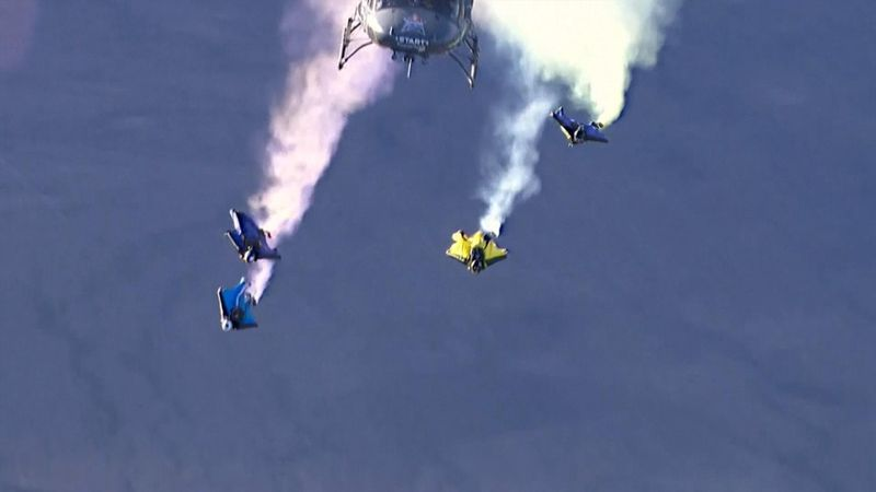 USA's Noah Bahnson wins Red Bull Aces wingsuit racing championship