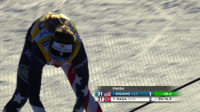 Diggins batte Johaug nella 10 km tl femminile