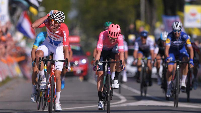 OTD | De ongelofelijke sprint van Van Der Poel in de Amstel Gold Race