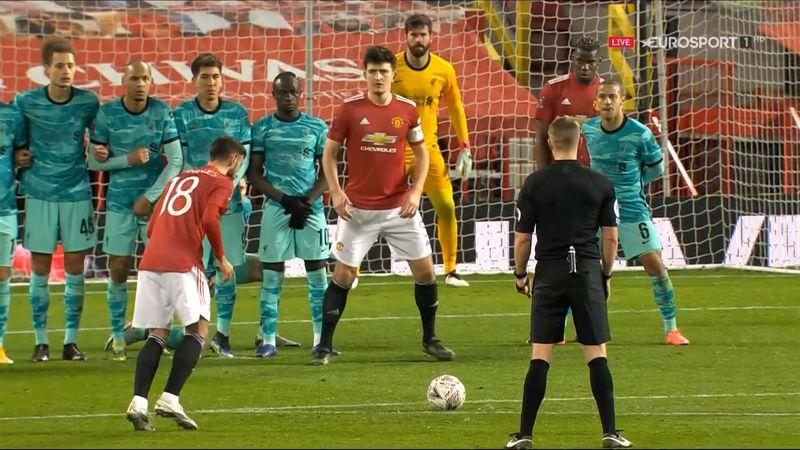 Man United – Liverpool 3-2 | GOOOL Fernandes! Bruno înscrie superb din lovitură liberă