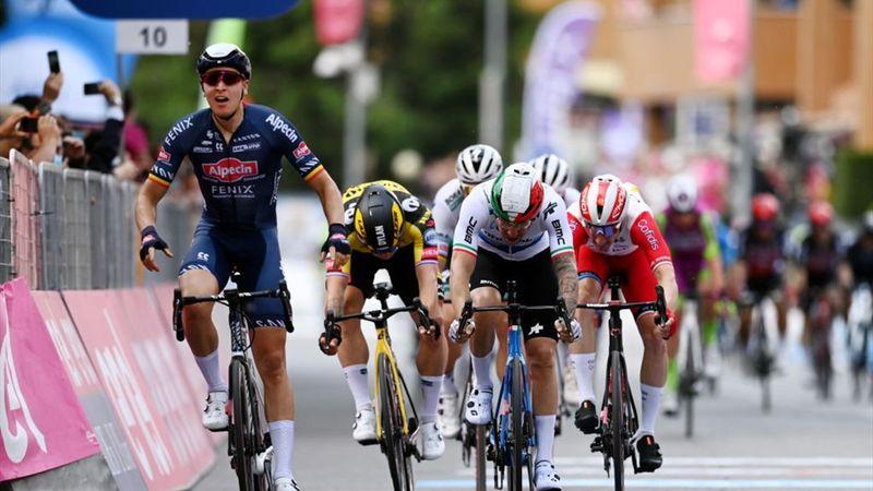 Belgisk seier i Giroen – Se innspurten her