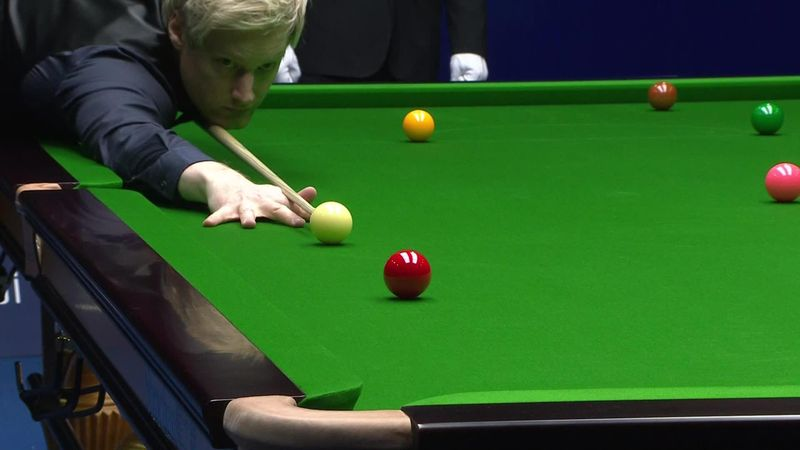 China Open : Robertson's last shots in the final against Lisowski