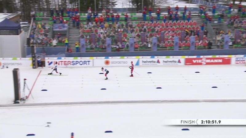 Битва Большунова с Клебо на финише марафона – главная драма сезона