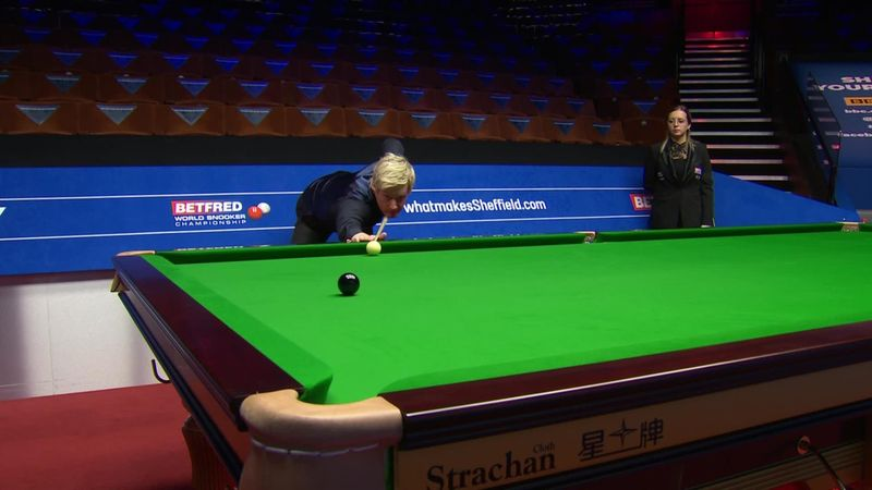 Snooker Dünya Şampiyonası: Neil Robertson'dan 132