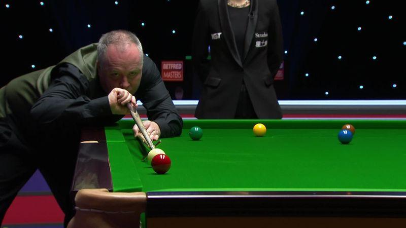 Lección de snooker de John Higgins: Soberbio 'break' de 107