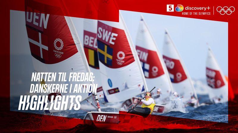 Nattens danske OL-aktioner: Bitter Sverri-skuffelse, stor Rindom-dramatik og sjetteplads til Tetsche