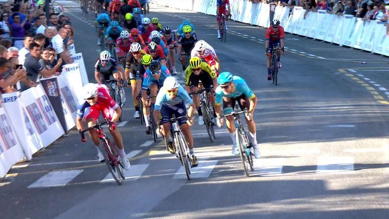 Tour of Croatia: Tour of Croatia: Stage 1 - Finish - winner Marko Kump