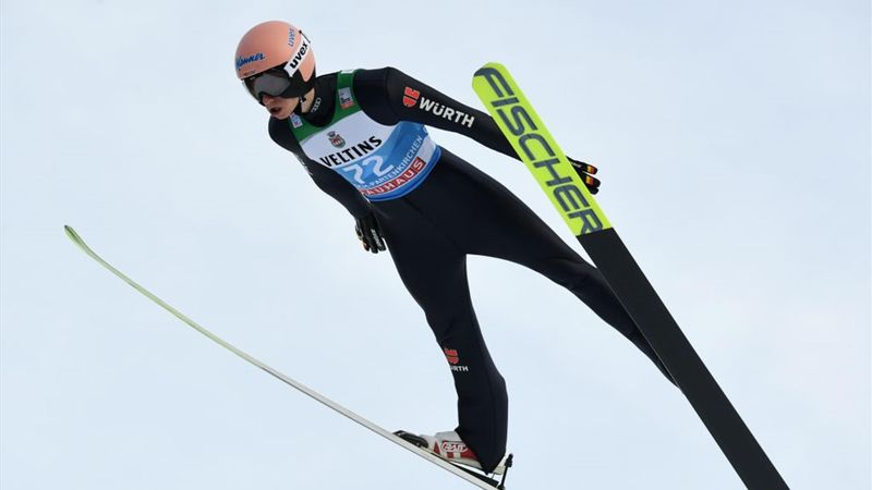 Cuatro Trampolines: Geiger avisa con el mejor salto en la clasificación de Garmisch-Partenkirchen