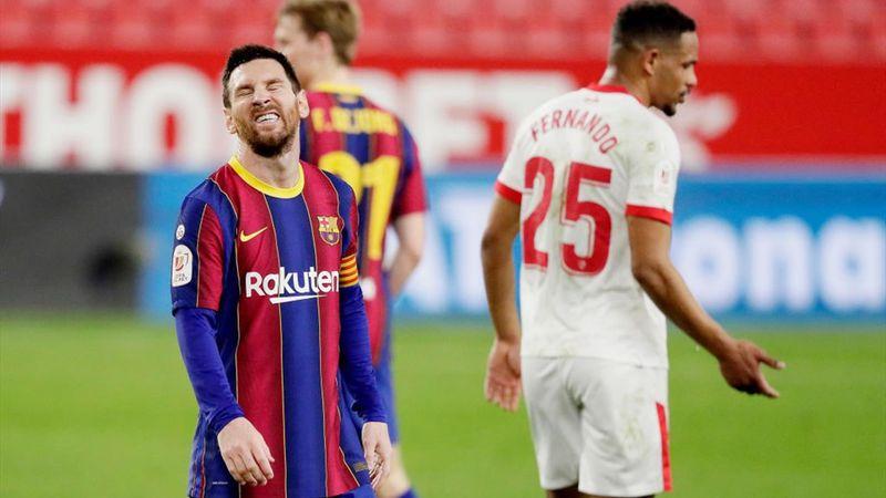 Resumen Sevilla-Barcelona: Toca milagro en el Camp Nou