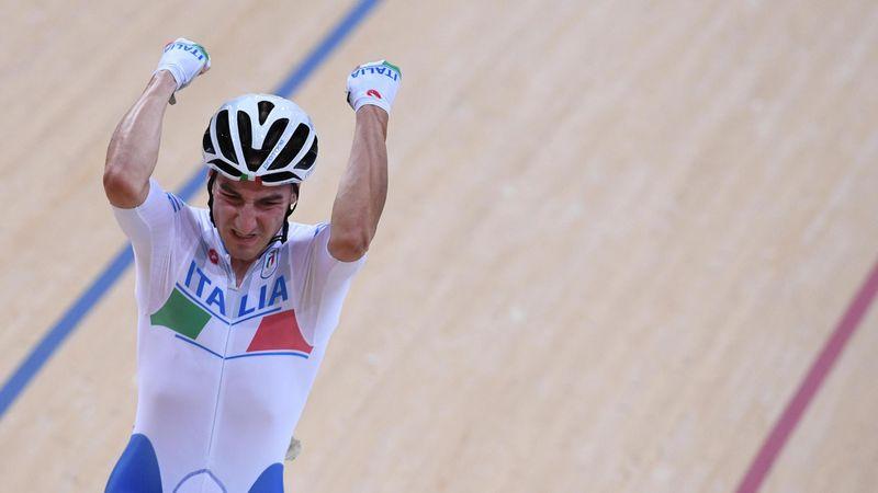 L'emozionante oro di Elia Viviani nell'Omnium a Rio 2016