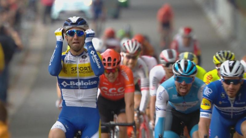 Piet Allegaert wins Tour de l'Eurométropole after huge Álvaro Hodeg crash