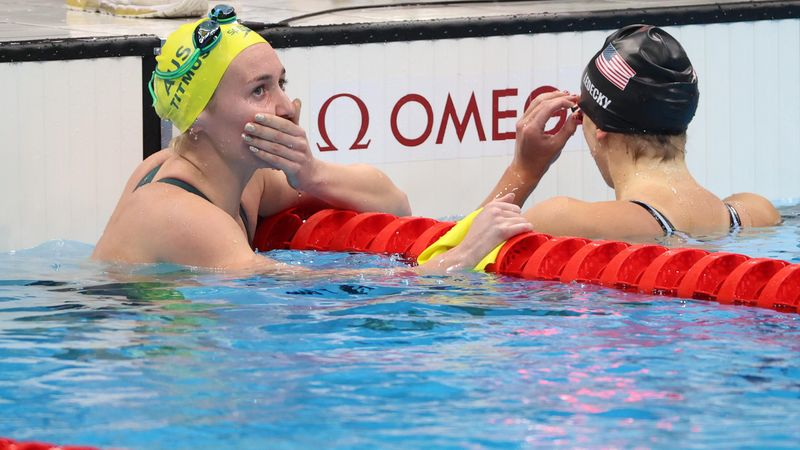 Natación | ¡El sorpresón de los Juegos! Titmus dejó sin oro a Ledecky en los 400 libres