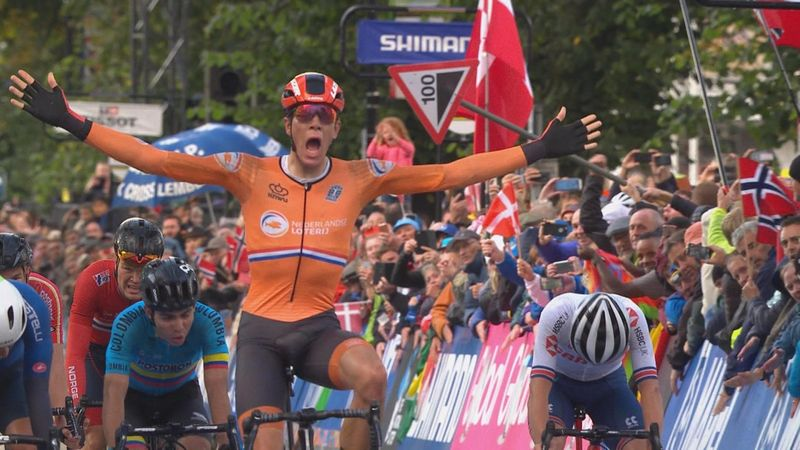 Nils Eekhoff toch geen Wereldkampioen onder 23 na diskwalificatie