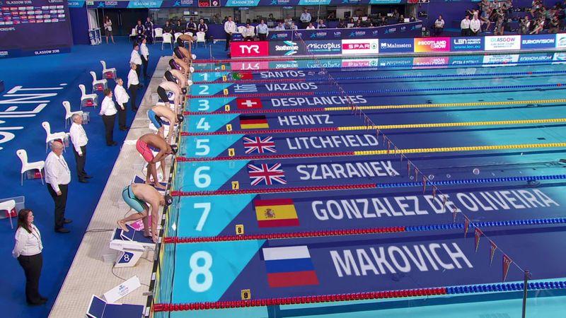 Europeos Glasgow: Buen cuarto puesto de Hugo González en los 200 estilos