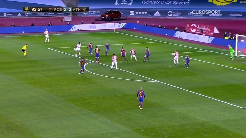 """""""Un gol pazzesco"""": Iñaki Williams affonda il Barça con una magia"""