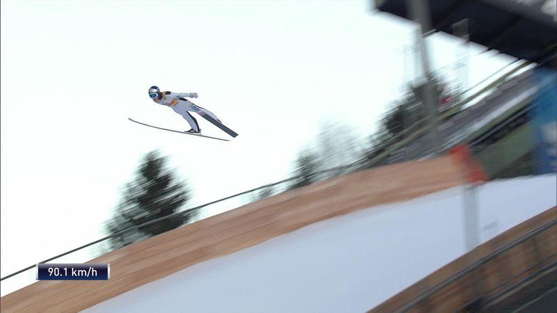 Kobayashi comes up short at Garmisch-Partenkirchen