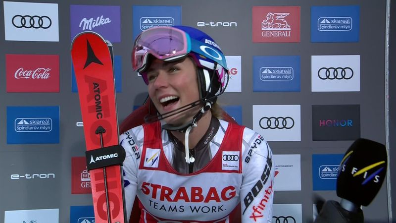 Shiffrin: I wanted to ski with risks today