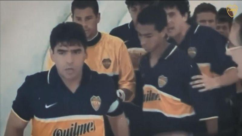 Boca Juniors' tribute video for Diego Maradona
