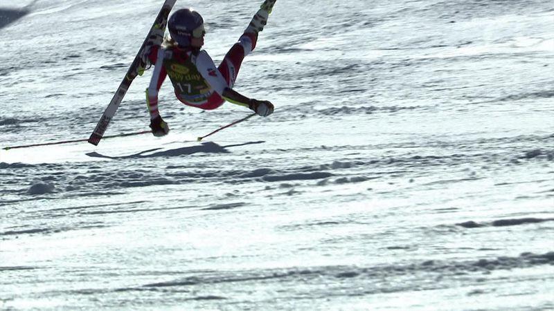 World Cup Sölden | Harde crash Bernadette Schild in tweede run