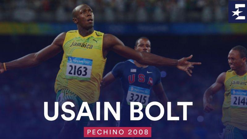 La prima straordinaria perla di Usain Bolt nei 100 metri: la finale di Pechino 2008