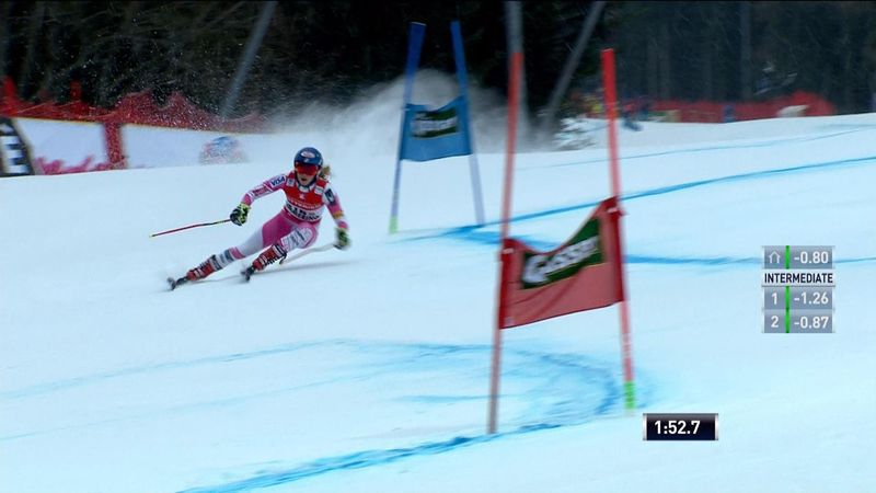 Dominant Mikaela Shiffrin wins Giant Slalom in Semmering